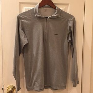 💥Patagonia Capilene Long Sleeve Top Med Gray